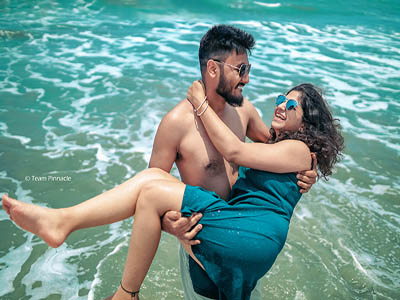 Kerala beach honeymoon