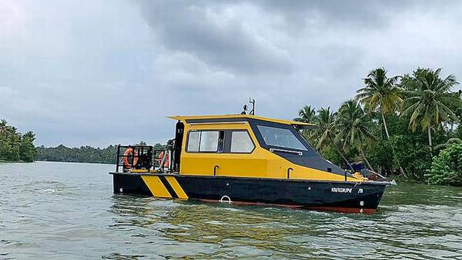 Water Taxi service in kerala